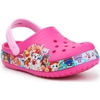 Scarpe Bambina Zoccoli Crocs FL Paw Patrol Band Clog 205509-670 pink