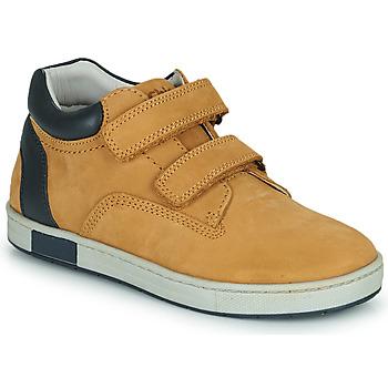Scarpe Bambino Sneakers alte Chicco CODY Marrone / Marine
