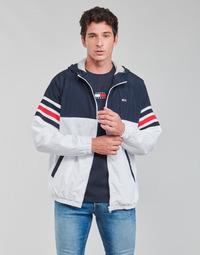 Abbigliamento Uomo Giubbotti Tommy Jeans TJM COLORBLOCK ZIPTHRU Blu / Bianco / Rosso