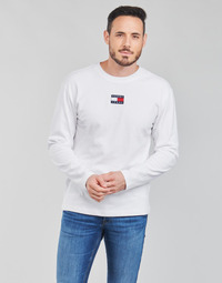 Abbigliamento Uomo T-shirts a maniche lunghe Tommy Jeans TJM LS TOMMY BADGE TEE Bianco