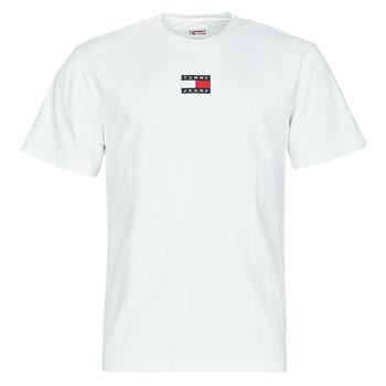 Abbigliamento Uomo T-shirt maniche corte Tommy Jeans TJM TOMMY BADGE TEE Bianco