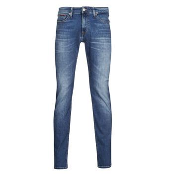 Abbigliamento Uomo Jeans slim Tommy Jeans SCANTON SLIM AE136 MBS Blu / Medium