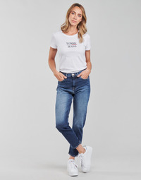 Abbigliamento Donna Jeans dritti Tommy Jeans IZZIE HR SLIM ANKLE AE632 MBC Marine