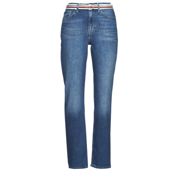 Abbigliamento Donna Jeans dritti Tommy Hilfiger NEW CLASSIC STRAIGHT HW A LEA Blu / Medium
