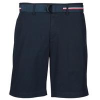 Abbigliamento Uomo Shorts / Bermuda Tommy Hilfiger BROOKLYN LIGHT TWILL Marine