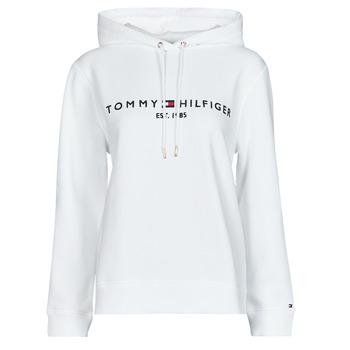 Abbigliamento Donna Felpe Tommy Hilfiger HERITAGE HILFIGER HOODIE LS Bianco