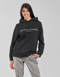 Abbigliamento Donna Felpe Tommy Hilfiger HERITAGE HILFIGER HOODIE LS Nero