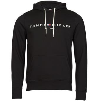 Abbigliamento Uomo Felpe Tommy Hilfiger TOMMY LOGO HOODY Nero
