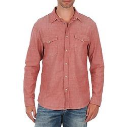 Abbigliamento Uomo Camicie maniche lunghe Selected Doha shirt ls r J Rosso