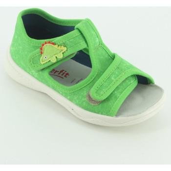 Scarpe Unisex bambino Sandali Superfit 293X sandalo  tela aperto Verde