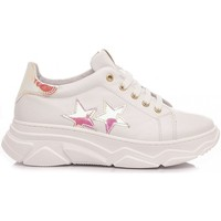 Scarpe Bambina Sneakers basse Chiara Luciani Chiara Luciani Sneakers Bambina E21-89 Bianco bianco, rosa