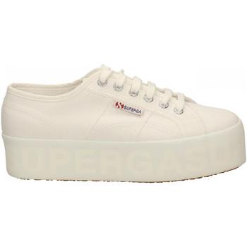 Scarpe Donna Sneakers basse Superga 2790 SHINY PINT.PLATFORM 901-white