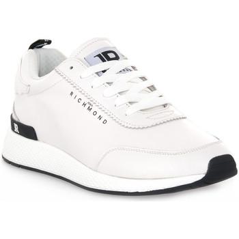 Scarpe Uomo Sneakers basse Richmond BIANCO NAPPA Bianco