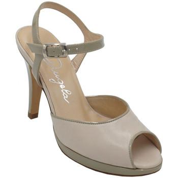 Scarpe Donna Sandali Angela Calzature ANSANGC13139bg beige