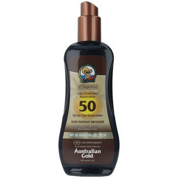 Bellezza Protezione solari Australian Gold Sunscreen Spf50 Spray Gel With Instant Bronzer