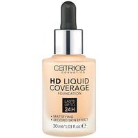 Bellezza Donna Fondotinta & primer Catrice Hd Liquid Coverage Foundation Lasts Up To 24h 030-sand Beig