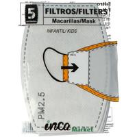 Accessori Maschera Inca Market Set 5 Filtros De Pm2.5 Infantil