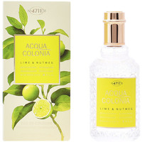 Bellezza Eau de toilette 4711 Acqua Colonia Lime & Nutmeg Edc Splash & Spray  50 ml