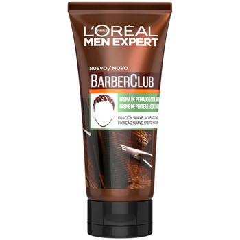 Bellezza Uomo Gel & Modellante per capelli L'oréal Men Expert Barber Club Crema Peinado Look Natural L'Oreal Make