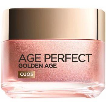 Bellezza Donna Idratanti e nutrienti L'oréal Age Perfect Golden Age Crema Iluminadora Ojos