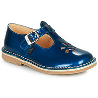 Scarpe Bambina Sandali Aster DINGO Blu / Vernis