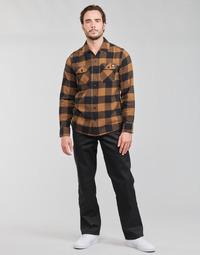 Abbigliamento Uomo Pantaloni 5 tasche Dickies ORIGINAL FIT STRAIGHT LEG WORK PNT Nero