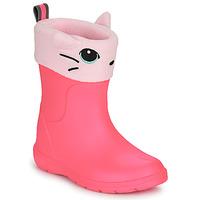 Scarpe Bambina Stivali da pioggia Isotoner 99314 Rosa