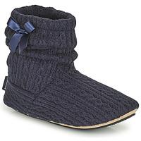 Scarpe Donna Pantofole Isotoner 97720 Marine