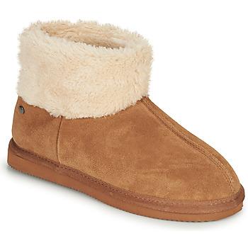 Scarpe Donna Pantofole Isotoner 97307 Camel