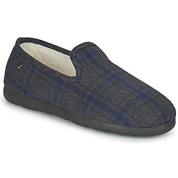 Scarpe Uomo Pantofole Isotoner 98038 Grigio / Blu
