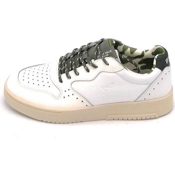 Scarpe Uomo Sneakers Beverly Hills 21HM616 Bianco-verde