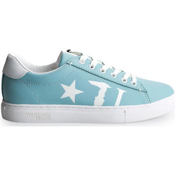 Scarpe Donna Sneakers basse Trussardi  Blu