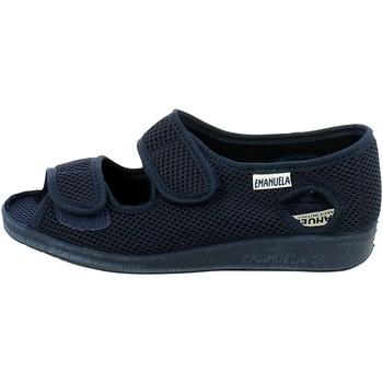 Scarpe Donna Pantofole Emanuela 663.06_35 BLU