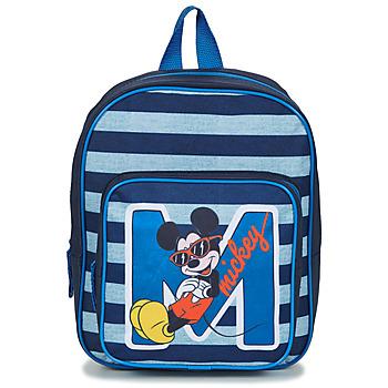 Borse Bambino Zaini Disney SAC A DOS MICKEY 31 CM Marine