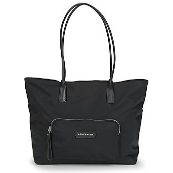 Borse Donna Tote bag / Borsa shopping LANCASTER BASIC PRENIUM Nero