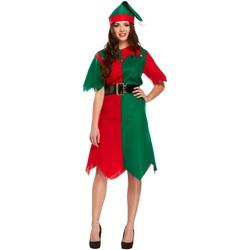 Abbigliamento Donna Abiti corti Christmas Shop CS086 Verde/Rosso