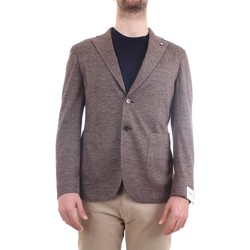 Abbigliamento Uomo Giacche / Blazer L.b.m. 1911 15754 Giacca Uomo tortora tortora