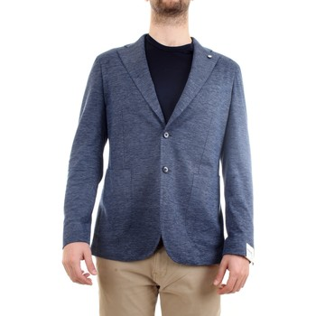 Abbigliamento Uomo Giacche / Blazer L.b.m. 1911 15754 Giacca Uomo blu blu