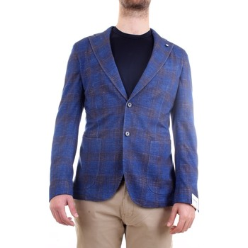 Abbigliamento Uomo Giacche / Blazer L.b.m. 1911 15794 Giacca Uomo blu blu