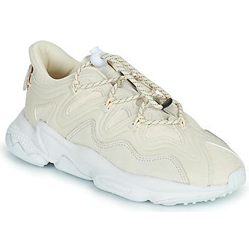 Scarpe Donna Sneakers basse adidas Originals OZWEEGO PLUS W Beige