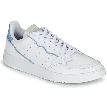 Scarpe Sneakers basse adidas Originals SUPERCOURT Bianco / Blu