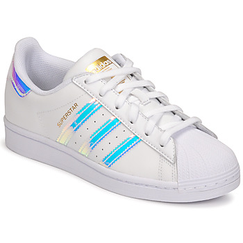 Scarpe Donna Sneakers basse adidas Originals SUPERSTAR W Bianco
