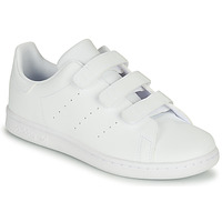 Scarpe Unisex bambino Sneakers basse adidas Originals STAN SMITH CF C Bianco