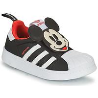Scarpe Bambino Sneakers basse adidas Originals SUPERSTAR 360 C Nero / Topolino