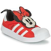 Scarpe Bambina Sneakers basse adidas Originals SUPERSTAR 360 C Rosso / Minnie