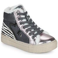 Scarpe Bambina Sneakers alte Primigi GIRL ALPHA Argento