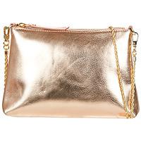 Borse Donna Tracolle Petite Mendigote HYPERION Rosa / Metallizzato