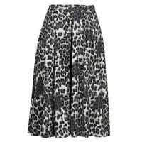 Abbigliamento Donna Gonne See U Soon 21232098 Nero / Bianco