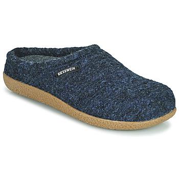 Scarpe Uomo Pantofole Giesswein VEITSH Blu