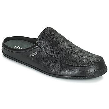 Scarpe Uomo Pantofole Giesswein MANTA Nero